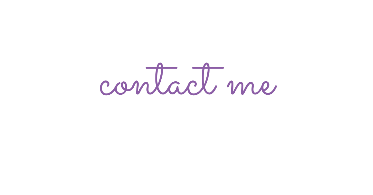 Contact Me Featured Image